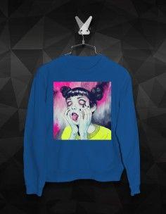 WOMEN'S PRINTING SWEATSHIRTS M Color, Streetwear Brands, Printed Sweatshirts, Street Wear, Printing, Graphic Sweatshirt, Lady, Cotton, Fashion