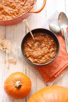 pumpkin paleo chili