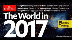 YOU NEED TO SEE THIS: ECONOMIST MAGAZINE FOR 2017 - 'SERPENT CARDS'
