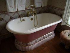 awesome tub MacKenzie Childs farmhouse