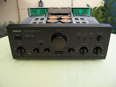 Technics SU-V900 Technics Hifi, Stereo Amplifier, Audiophile, Best Brand, Techno, Videos, Geek, Retro, Vintage