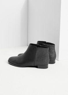 Flat ankle boot | MANGO KIDS