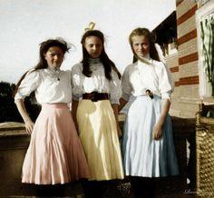 Фото царской семьи Романовых в цвете.. Обсуждение на LiveInternet - Российский Сервис Онлайн-Дневников