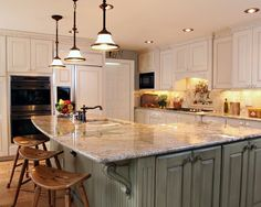 L Designs Kitchen with Islands | Kitchen L Shape Island Design, Pictures, Remodel, Decor and ... | Kit ...