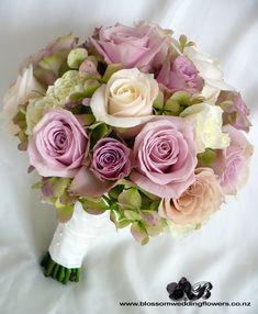 Dusky pink and cream rose bouquet @Allison j.d.m j.d.m j.d.m j.d.m j.d.m Todd