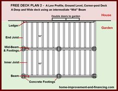 1000 images about 12 x 12 deck on pinterest covered for 12x12 deck plans
