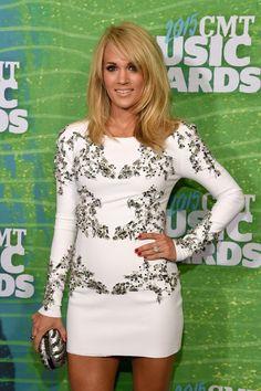 Carrie Underwood at the CMT Awards 2015   POPSUGAR Celebrity