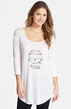 Make + Model 'Sleepy Tee' Nightshirt available at #Nordstrom
