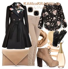 Béžovo - čierna kombinácia - KAMzaKRÁSOU.sk #lookoftheday #outfitoftheday #stylish