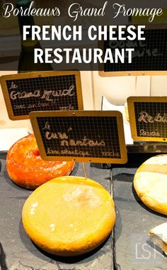 Baud et Millet is one of France's only cheese restaurants, and a little gem in the city of Bordeaux, with 120 varieties of fromage. Food, wine and great sights add up to many great reasons to travel to Bordeaux