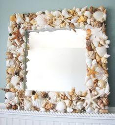 Как сделать декоративную рамку для зеркала своими руками