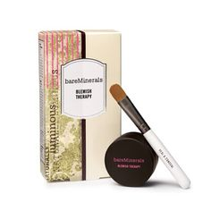 Don't let a blemish stop you from feeling beautiful! Give @bareMinerals Skincare Blemish Therapy! #naturalBEauty