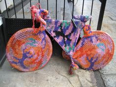 12 Must See Yarn Bomb Bicycles 6c0cd69b977