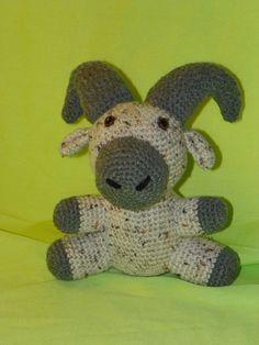 Rocky Ram crochet pattern by southerngalscrochet on Etsy, $4.20