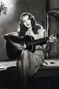 Vintage gal:    Rita Hayworth in Gilda (1946)