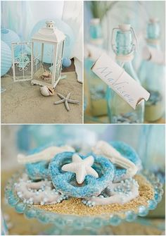 This will be perfect for a mermaid beach themed event this spring.