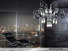 Salon Dekorasyonu İçerisinde Kullanılan Şahane Salon Avize Modelleri. Odanın Havasını Değiştirecek, Mobilyalara Renk Katacak Salon Avizeleri.
