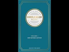 NEW Revised Organize Now!