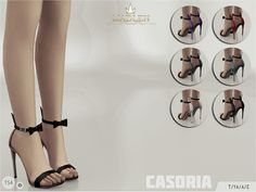 The Sims Resource: Madlen Casoria Shoes by MJ95 • Sims 4 Downloads