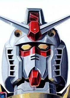 機動戦士ガンダム - 大河原邦男 | Gundam by Kunio Okawara *