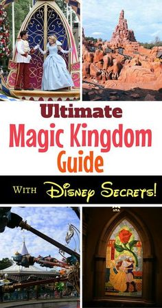 Magic Kingdom Guide: Through the Eyes of a Life Long Fan The guide to the Magic Kingdom at Walt Disney World offers insider tips and Disney secrets to having the ultimate magical vacation! Disney World Resorts, Disney World 2017, Disney World Florida, Disney Vacations, Disney Worlds, Family Vacations, Vacation Destinations, Disney Honeymoon, Family Trips