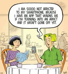 cellphone addiction funny
