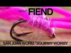 Squirmy Wormy / San Juan Worm Fly Tying Tutorial | The Fly Fiend. - YouTube