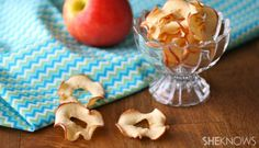 Nosh on apple and banana chips all you want with these easy recipes