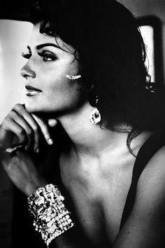 Helena Christensen   Photography by Max Vadukul   For Vogue UK   November 1992