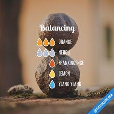 Blend Recipe: 3 drops Orange, 3 drops Neroli, 1 drop Frankincense, 1 drop Lemon, 1 drop Ylang Ylang