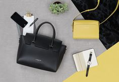 Our new Fall Winter collection is progressively coming in stores and online. So, stay tuned! #newcollection #fall #winter #fw17 #collection #bags #setdesign #advertising #yellow #camelia #lancaster #lancasterparis