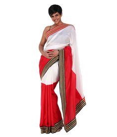Mandira Bedi Red Silk Saree, http://www.snapdeal.com/product/mandira-bedi-red-silk-saree/624031801849