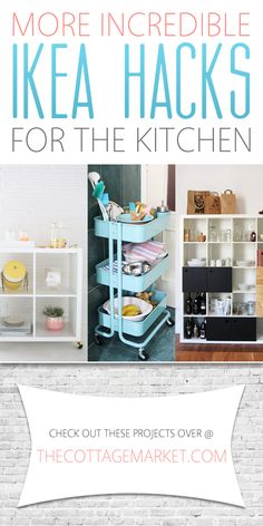 More Incredible Ikea Hacks for the Kitchen - The Cottage Market