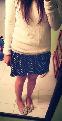 College outfit :) different shoes
