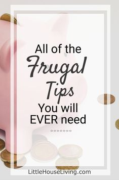 Need more frugal tips to help you get by on the budget that you have? Whether you need basic frugal tips or extremely frugal tips, this is the place to find them. Frugal Living Tips, Frugal Tips, Ways To Save Money, Money Tips, Money Saving Mom, Money Savers, Budgeting Tips, Finance Tips, Money Management