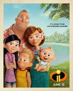 Incredibles 2 Poster Promises a Super Summer