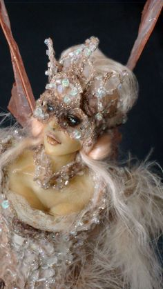 OOAK / VALE an Art Doll sculpture by Victoria Mock by VictoriaMock, $220.00