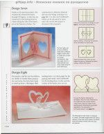 """Photo from album """"The Pop-Up Book"""" on Yandex. 3d Cards, Pop Up Cards, Love Cards, Cards Diy, Washi, Heart Pop Up Card, Libros Pop-up, Diy And Crafts, Paper Crafts"""