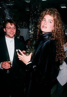 Judd Nelson and Brooke Shields at the Hooray For Hollywood AIDS Benefit Bloomindale's New York City