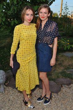 Zoe Kazan and Morgan Saylor