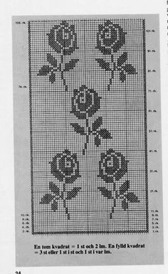@nika Crochet Curtains, Lace Curtains, Crochet Doilies, Filet Crochet, Crochet Stitches, Crochet Patterns, Love Crochet, Knit Crochet, Looking For Love