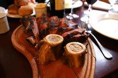 côte de bœuf & os à Moelle (chez paul, Paris)