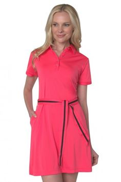 Classic Club #Golf Polo #Dress | PinksandGreens.com