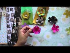 ▶ Handmade Flowers Tutorial - YouTube