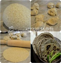 Čapati hleb -  Chapati Bread