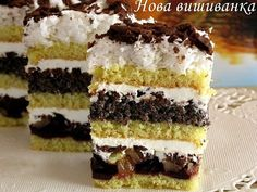 Comments in Topic Ukrainian Recipes, Russian Recipes, Sweet Recipes, Cake Recipes, Russian Cakes, Cake Business, No Cook Meals, Cheesecake, Food And Drink