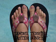 """@TawdryTerrier """"Easter Sonrise"""" - 2 bottles available at https://www.etsy.com/shop/TawdryTerrier #nailpolish #indienailpolish #tawdryterrier #easter"""