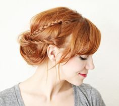 10+Chic+Braids+That+Are+Actually+Easy+(We+Swear)+via+@ByrdieBeautyUK