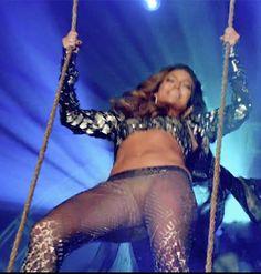 Jennifer Lopez sheer see-through pants