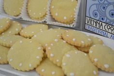 Delicious butter cookies, freshly baked by Vienna Cookie Company. www.viennacookiecompany.com
